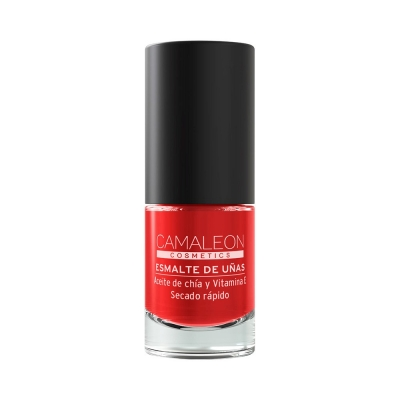 CAMALEON RED NAIL POLISH