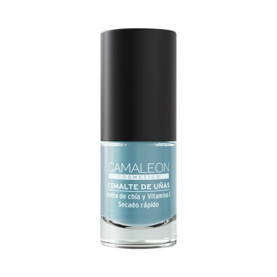 CAMALEON BLUE-GREY NAIL POLISH