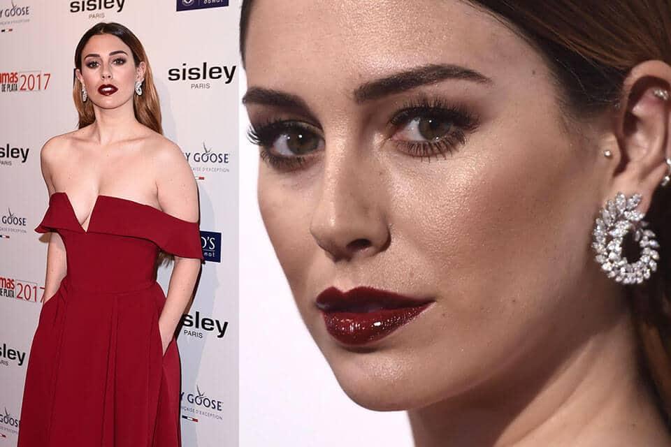 Maquillaje de Blanca Suárez en los premios Fotogramas 2018